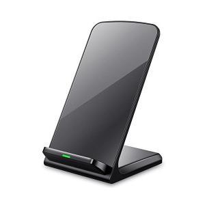 3つのコイル ワイヤレス充電器 Seneo Qi ワイヤレスチャージャー iPhone XS/XS ...