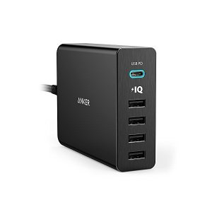 Anker PowerPort+ 5 USB-C Power Delivery (60W 5ポート ...