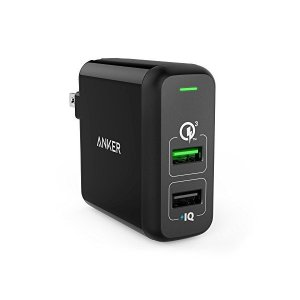 Anker PowerPort 2 Quick Charge 3.0 (31.5W 2ポート USB...