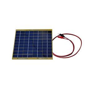 新しい NUZAMAS ポータブル ソーラー パネル充電器 5 w 18 v 電源車のバッテリー 12 v 充電屋外キャンプ旅行電源|mount-n-online