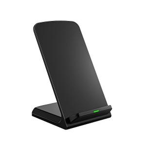 3つのコイル ワイヤレス充電器 Qi ワイヤレスチャージャー iPhone XS , iPhone ...