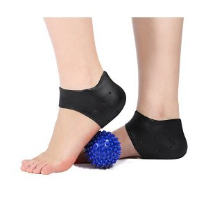 かかとサポーター かかとケアセット かかとカバー かかと保護インソール かかとパッド 足底筋膜炎 足裂 衝撃吸収 角質ケア かかと痛み緩和 保温 保 mount-n-online