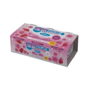紀陽除虫菊 除湿剤 湿気トルポン アロマプラス プリンセスローズの香り 500ml 3個組 紀陽除虫...