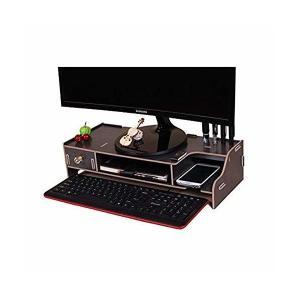 パソコン モニター台 スタンド デスク 片付け 収納力抜群 整理 ペンホルダー搭載 会社 オフィス 自宅 ウッド|mount-n-online