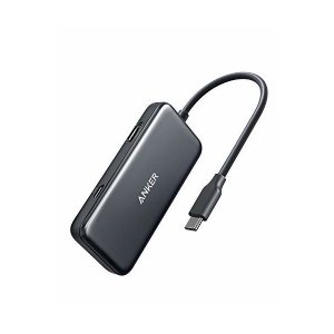 Anker 3-in-1 プレミアム USB-Cハブ【60W Power Delivery対応/US...