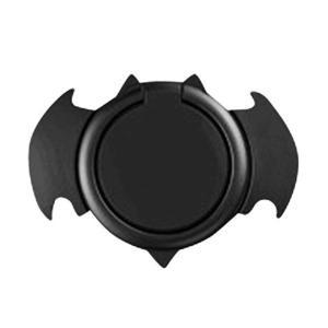 スマホリング ホールドリング 交換保証付 3倍強力吸着 金属製薄型 コウモリ型フラットリング BAT FLAT RING (全4色) 磁気カーマウン|mount-n-online