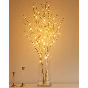 Hairui ブランチツリー LED ライト 枝 イルミネーション ツリー インテリア 電池式 間接照明 クリスマス 高さ80cm 10|mount-n-online