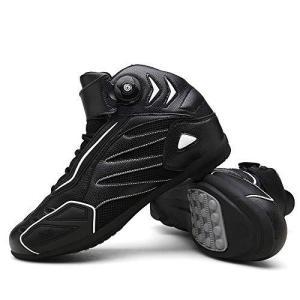 バイク用靴 プロテクション有り 強化防衛性 高い防水機能 高速換気 耐衝撃性 透湿性 抗菌防臭 ショートブーツ|mount-n-online