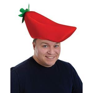 Plush Chili Pepper Hat ぬいぐるみ唐辛子の帽子ハロウィンクリスマス [並行輸入品]|mount-n-online