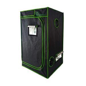LS Hyindoor 80*80*160cm 室内水耕栽培 植物育成 グロウボックス 安全遮光なグロウテント 高品質 温室|mount-n-online