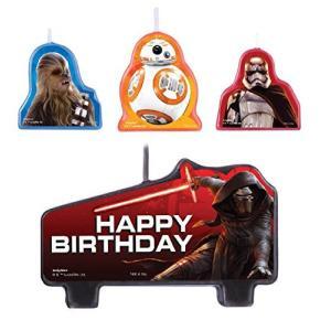 Star Wars VII Birthday Candle Set スター・ウォーズVIIバースデーキャンドルセットハロウィンクリスマス|mount-n-online