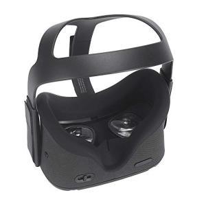 NiceCool Oculus Quest フェイスシリコンカバー, Oculus Quest フェイスマスク, Oculus Quest VR フェイスパッド フェイスクッ|mount-n-online