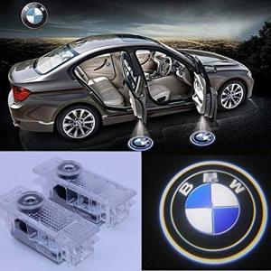 ウェルカムランプ、KVCH 1ペアLED礼儀照明簡単なインストール車のドアのレーザープロジェクターのロゴゴースト|mount-n-online