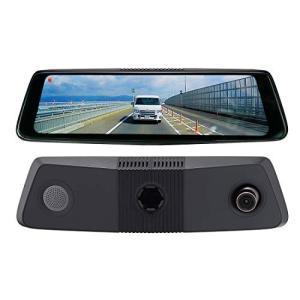 SOLING(ソーリン) 前後2カメラドライブレコーダー搭載 スマートルームミラー SL3118SMD フルHD 9.88インチタッチパネ|mount-n-online