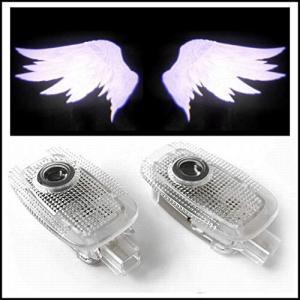 ベンツ LEDレーザーロゴライト、ドアカーテシ 翼 WING ウイング Sクラス W221 WW-035H|mount-n-online