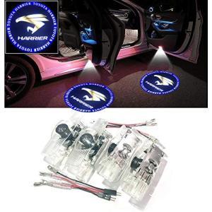 Ltsplay 4個セット カーテシランプ レーザーロゴライト ドアウェルカムライト LEDロゴ投影 30系60系トヨタ ハリア|mount-n-online