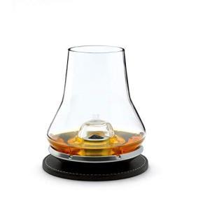 プジョー PEUGEOT ウィスキー テイスティング グラス セット コースター メタルベース 350ml アンピトワイヤブル 26|mount-n-online