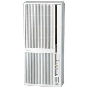 コロナ 窓用エアコン(冷暖房兼用・おもに4.57畳用 シェルホワイト)CORONA CWH-A1819-WS|mount-n-online