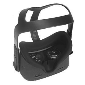 Gubest 柔軟なシリコンVRフェイスカバー For オキュラス クエスト Oculus Quest VR カバーパッドの交換 Cover Pad Replacement|mount-n-online