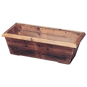アイリスオーヤマ プランター 焼杉メッシュプランター ボックス YMB-640|mount-n-online
