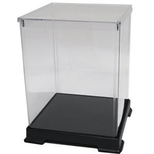 かしばこ商店 透明フィギュアケース 横幅24cm×奥行24cm×高さ32cm