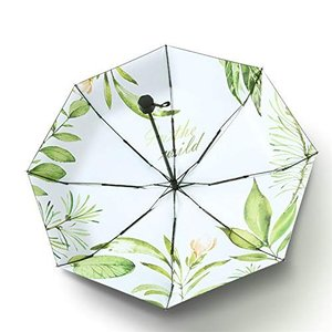 Laluna 日傘 折り畳み傘 レディース 8本骨 耐風 撥水折り畳み傘 210T 高密度黒グルー塗布 UVカット 遮光傘 晴雨兼用|mount-n-online