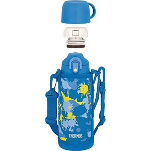 サーモス FHO-801WF BL-PT 真空断熱2ウェイボトル ステンレスボトル ステンボトル 水筒|mount-plus