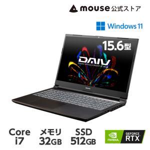 ノートパソコン クリエイターPC 新品 15.6型 DAIV 5N-MA Windows 10 co...