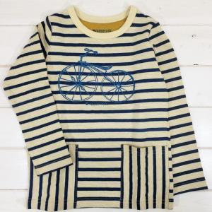 ボーダーロンT [80-140cm] '15秋冬 maarook(マルーク)子供服/Tシャツ/長袖Tシャツ|moutonkids