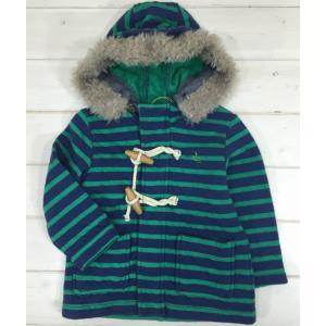 【SALE♪】ボーダーコート [80-95cm] '15秋冬Rag Mart(ラグマート) 子供服/アウター/コート/パーカー|moutonkids