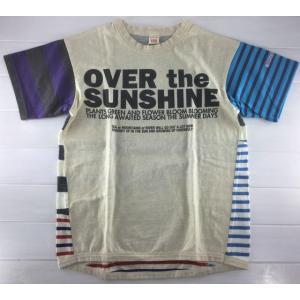 OFFICIAL TEAM オフィシャルチーム  /  マルチボーダーTシャツ [150cm]|moutonkids