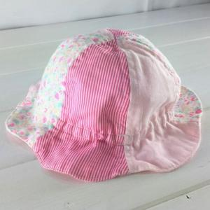 Rag Mart ラグマート  /  ストライプ&花柄HAT [44cm-46cm]|moutonkids