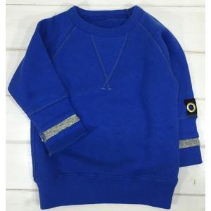【SALE♪】シンプルトレーナー [90-120cm] '15秋冬 Bleu Horizon(ブルーオリゾン)子供服/トップス/トレーナー|moutonkids