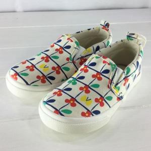 Petit jam プチジャム  /  花柄スリッポンシューズ [13cm−20cm] 子供靴|moutonkids