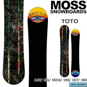 スノーボード 板 19-20 MOSS モス TOTO トト オールラウンド グラトリ パーク