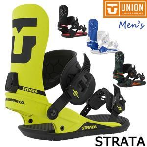 スノーボード ビンディング バインディング 19-20 UNION ユニオン STRATA ストラタ...