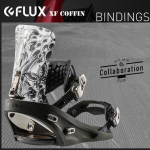 スノーボード バインディング ビンディング 17-18 FLUX フラックス XF T.NOZAKA...