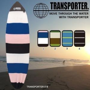 サーフィン ボードケース TRANSPORTER(トランスポーター) ニットケースレトロ&ミニ 5'...