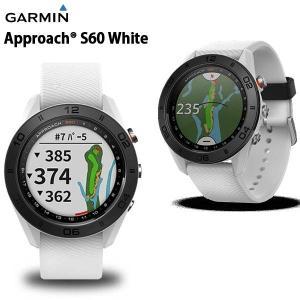 ゴルフ GARMIN ガーミン APPROACH S60 アプローチ GPSゴルフナビ ゴルフウォッチ 時計 腕時計 正規品 ホワイト|move