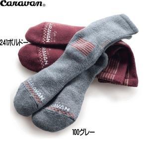 キャラバン Caravan RLメリノ アルパイン 100グレー アウトドア 靴下 ソックス|move