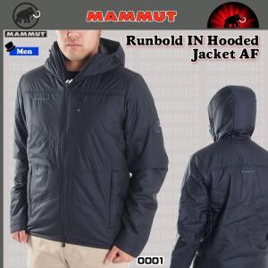 値下げ!!  MAMMUT (マムート) Runbold IN Hooded Jacket AF Men 0001  ランボルド インサレーションフーディジャケット アジアンフィット black   (MMTBGN)|move