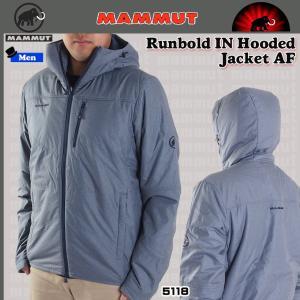 値下げ MAMMUT (マムート) Runbold IN Hooded Jacket AF Men 5118 ランボルド インサレーションフーディジャケット アジアンフィット marine (PDN)|move