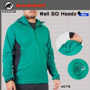 値下げ MAMMUT(マムート) Wall SO Hoody Men ウォールソーフーディ(BGN) (PDN)|move