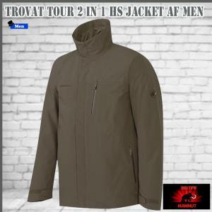 マムート ジャケット トロバットツアー2イン1ジャケット  MAMMUT Trovat Tour 2 in 1 HS Jacket AF Men 7374 (MMTBGN)|move