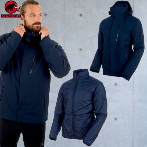 マムート(MAMMUT) Trovat Tour 3 in 1 HS Jacket Men カラー:50104 marine-marine-phantom(MAMMUT_2018FW)|move