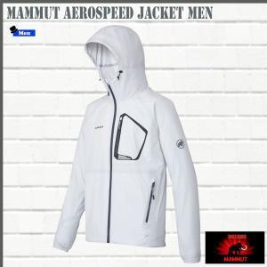 マムート MAMMUT AEROSPEED Jacket Men  white ジャケット (MMT_2018SS)|move