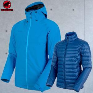 マムート(MAMMUT) Convey 3 in 1 HS Hooded Jacket Men カラー:50079 imperial-ultramarine(MAMMUT_2018FW)|move