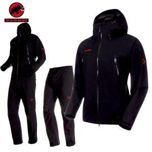 MAMMUT(マムート) CLIMATE Rain -Suit AF Men クライメイトレインスーツ アジアンフィット ゴアテックス  カラー:0052 (MAMMUT_2019SS) あすつく|move