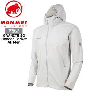 マムート グラナイトSO フードジャケット アジアンフィット カラー:0400/highway MA...
