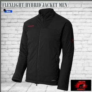 マムート フレックスライトハイブリットジャケット MAMMUT FLEXLIGHT Hybrid Jacket Men カラー:0001   (mmt_2017fw)|move